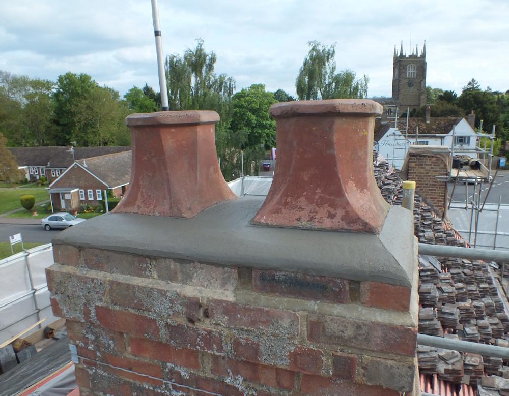 Chimney Mortar Cap Repair