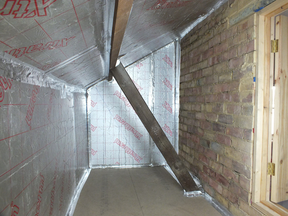 Attic Insulation The Salutation Restoration