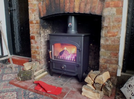 very small wood stove for sale