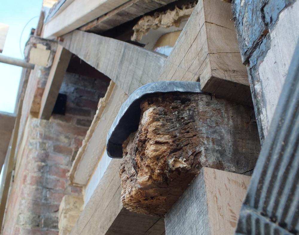New Timber Frame The Salutation Restoration