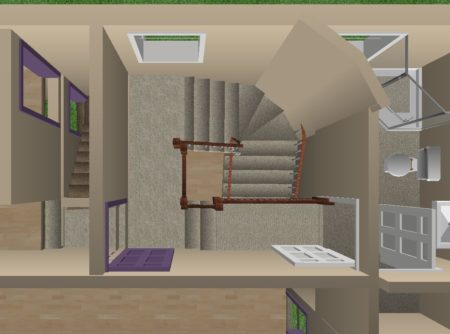 staircase-upstairs